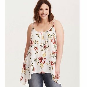 Nwt torrid floral tank top size 1